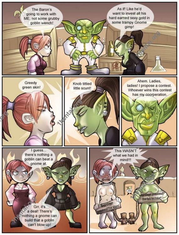 Shia - Gnome vs. Goblin (comics,  en)