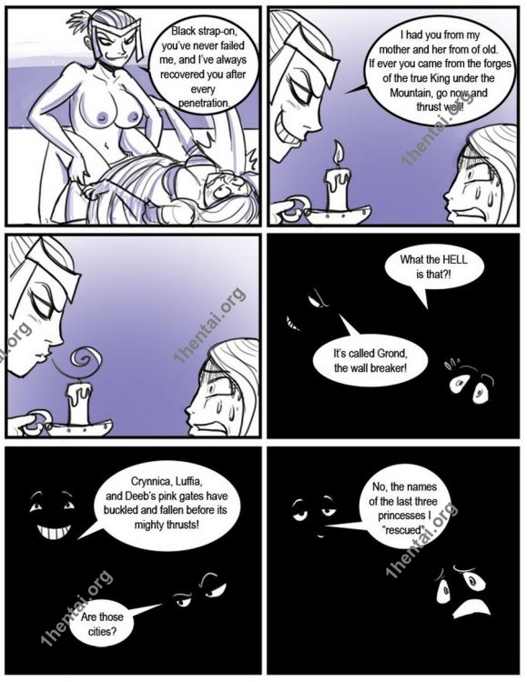 Shia - How not to save a princess (comics,  en)