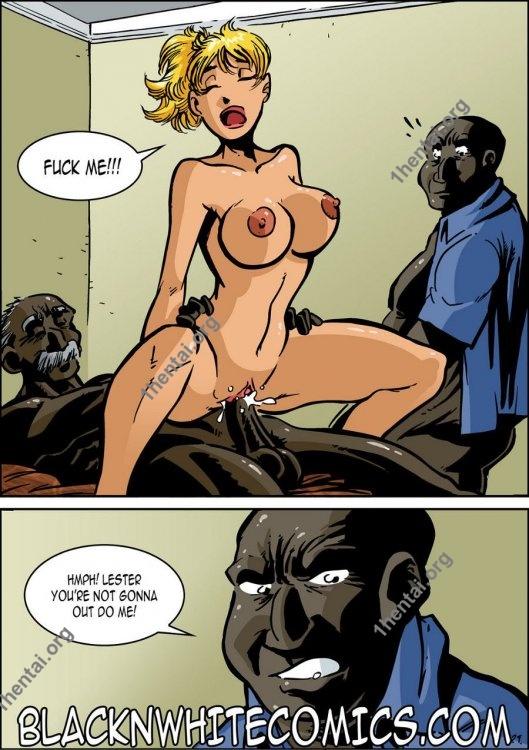 Blacknwhitecomics (Interracial xxx comics, en)