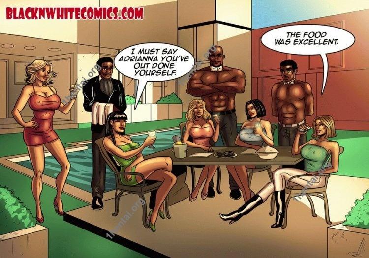 Housewives of Beaverton (Interracial xxx comics, en)