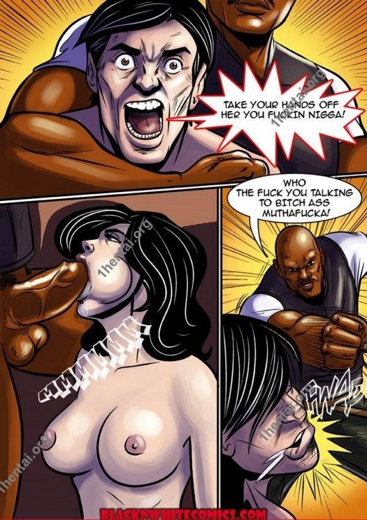 Immigration Patrol (Interracial xxx comics, en)