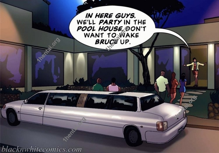 Keeping It Up for the KarASSians (Interracial xxx comics, en)