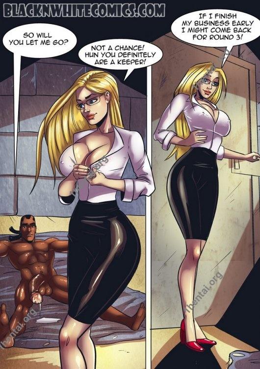 Missing 2 (Interracial xxx comics, en)