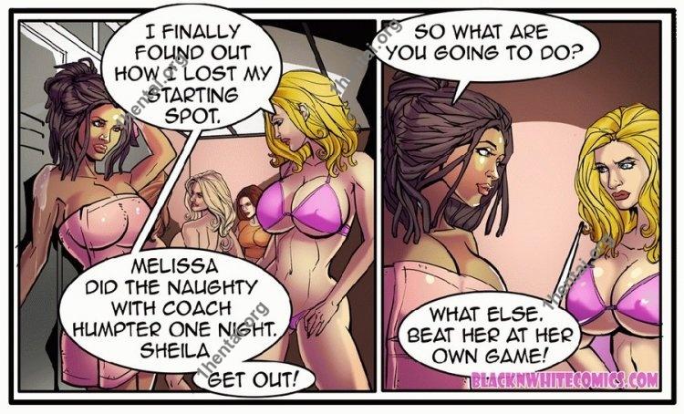 The Blitz (Interracial xxx comics, en)
