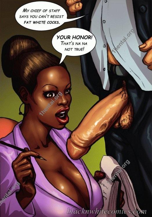 The Mayor (Interracial xxx comics, en)