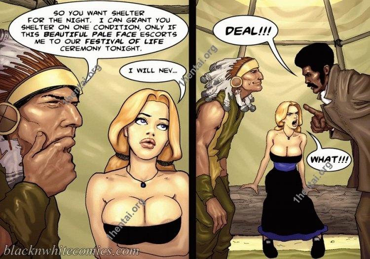 True Dick (Interracial xxx comics, en)