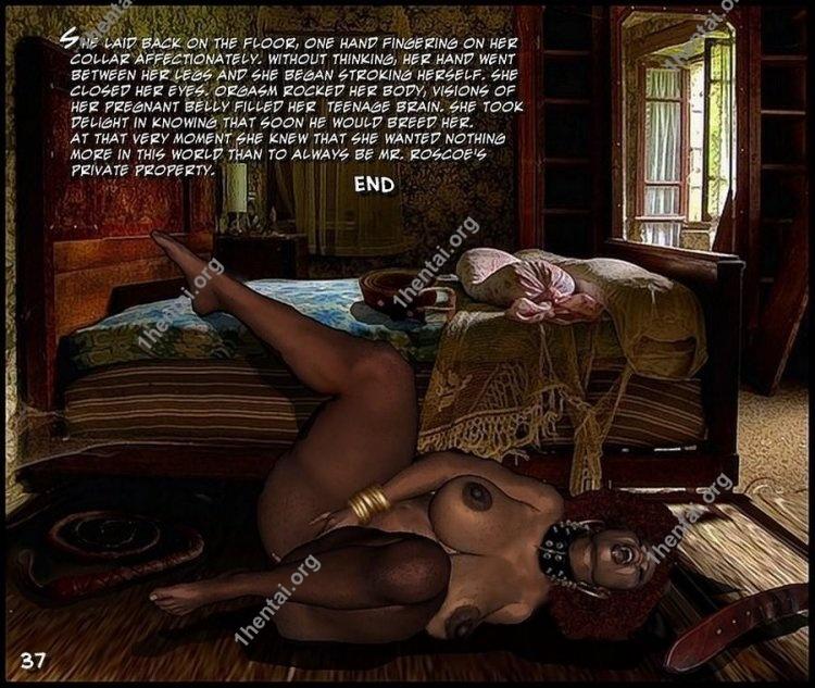 Delissia Private Property (Interracial xxx comics, en)