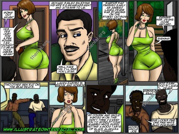 Back Of The Bus (Interracial xxx comics, en)