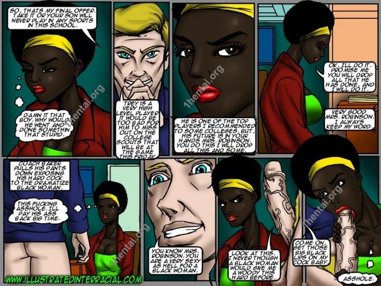 Coach (Interracial xxx comics, en)