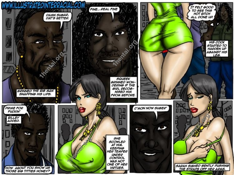 Ghetto Teen (Interracial xxx comics, en)