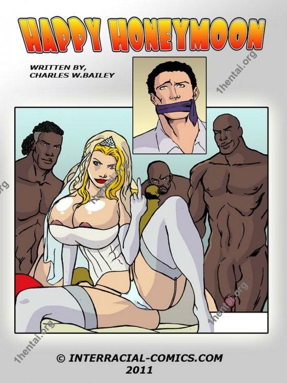 Happy Honeymoon (Interracial xxx comics, en)