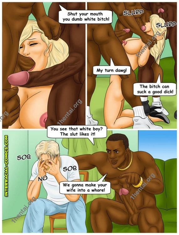 In the Line of Duty (Interracial xxx comics, en)
