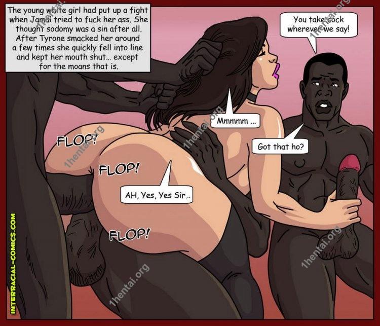 Roadside Assistance (Interracial xxx comics, en)