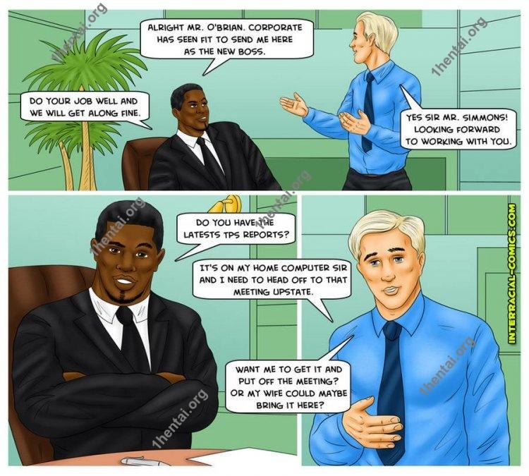Stepfather1 (Interracial xxx comics, en)