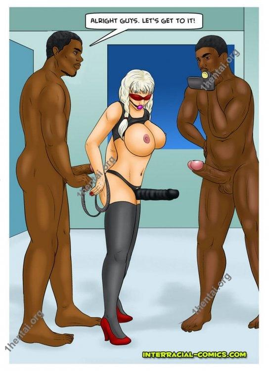 Stepfather2 (Interracial xxx comics, en)