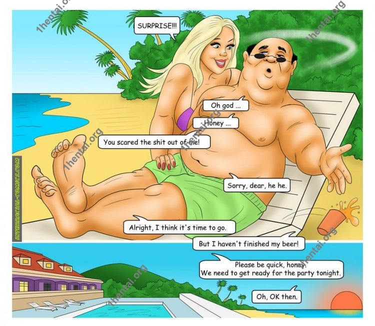The Caribbean Holidays (Interracial xxx comics, en)
