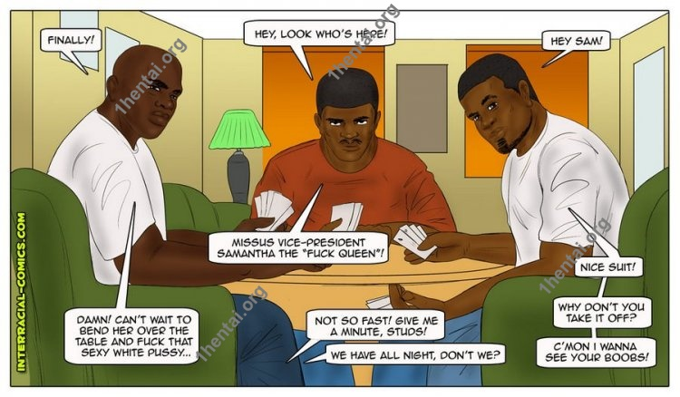 Three Days In Chicago (Interracial xxx comics, en)