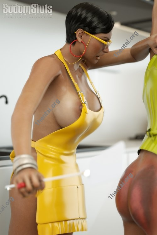 Sodom Sluts - LadyIn Yellow