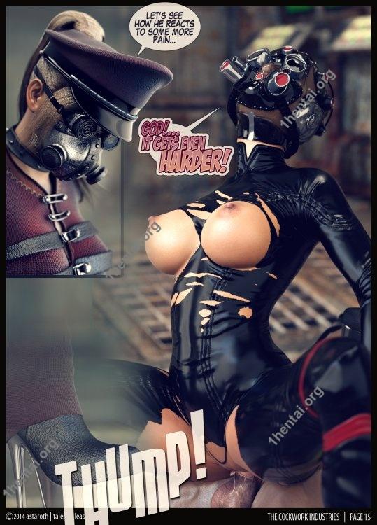 Tales Of Pleasure - Cock work Industries Comic 01-10
