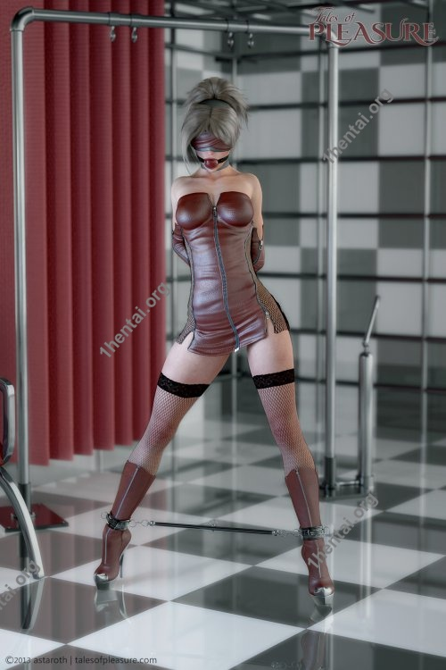 Tales Of Pleasure - Leatherand Steel Gagged and Restrained