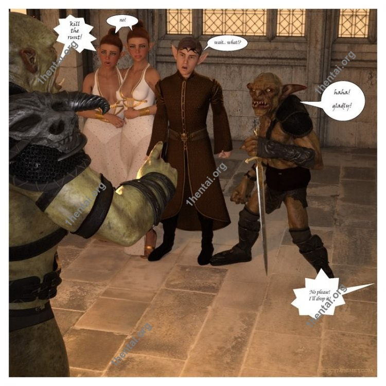 Royal Slaves to the Orc Kingdom [Ch.1-2] (Eng) [Comics sexy moms MercyMagnet ]