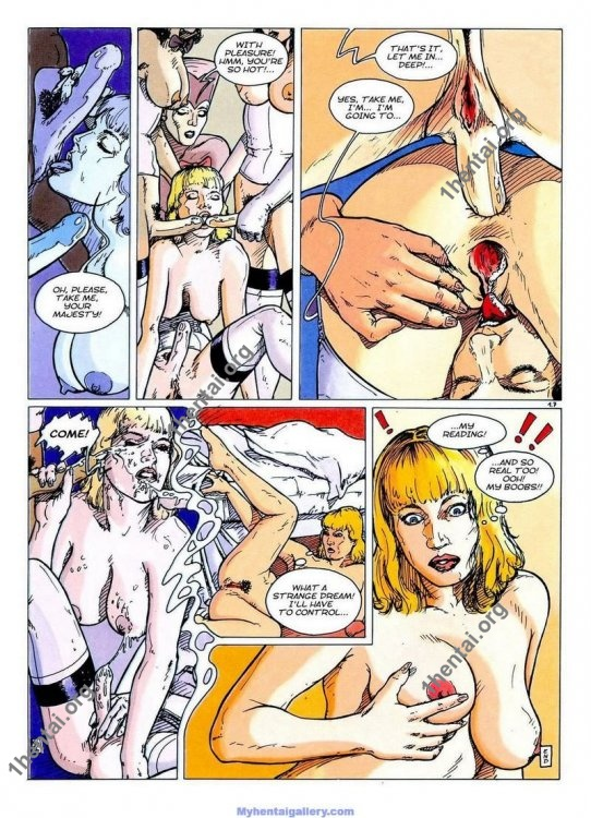 Reverie (Eng) [Comics Xavier Duvet]