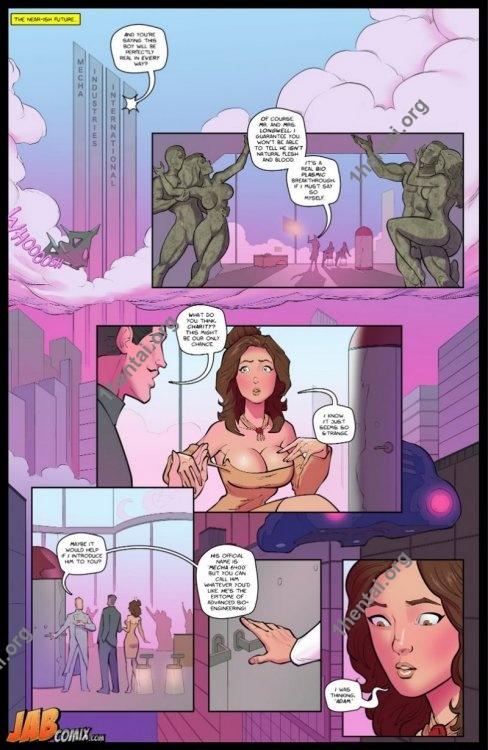 Artificial Probing (Eng) [Comicsporn Author: JabComix]