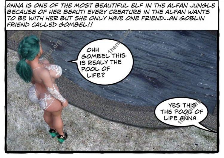Alfan Jungle [Ch.1-5] (Eng) [EroComics Author: Elf3d]