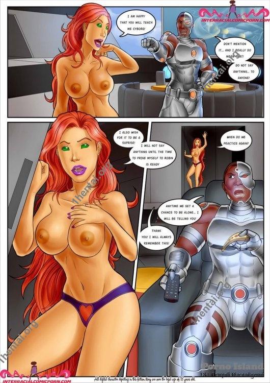 Teen Titans [Ch.1-2] (Eng) [Comics Author: Interracialcomicporn]