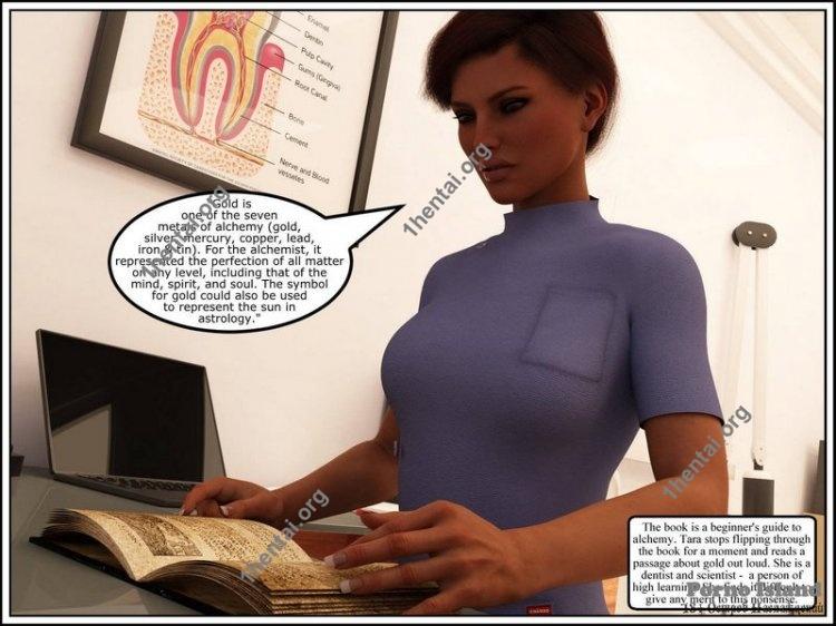 Tara's Research (Eng) [Comics Author: Mr. Phoenyxx]