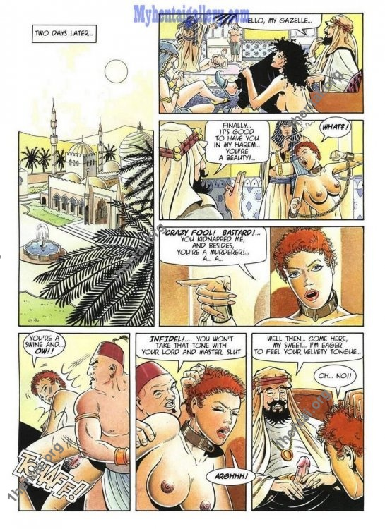 Middle Eastern Nights (Eng) [Comics Author: Claudio Trinca]