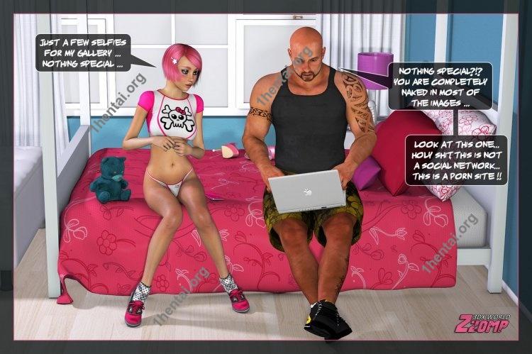 Dolly Pink Social Network porn comics