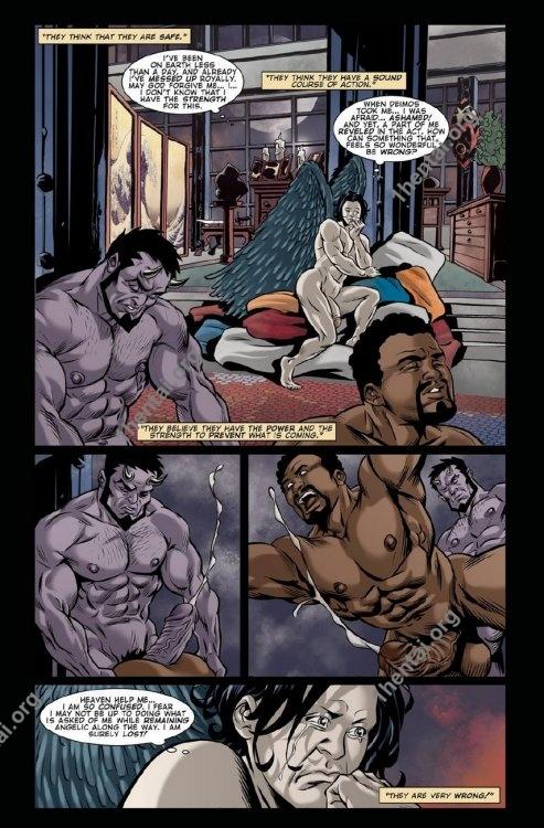 Deimos 1 gay free porn comics