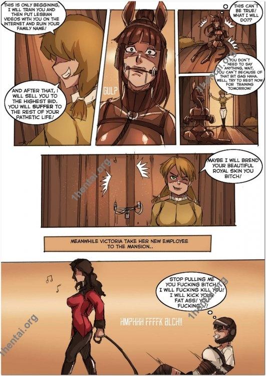 Derby 1 – Duchess Ponygirl Transformation BDSM comix