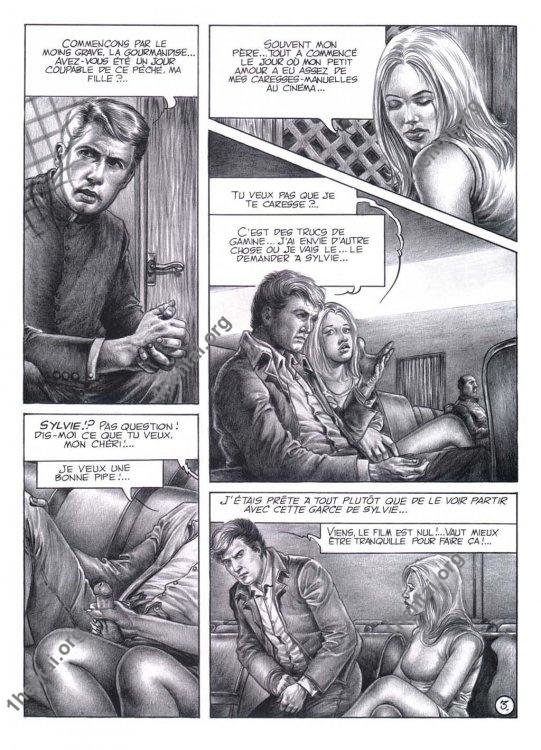 Chris - Aline et les 7 peches capitaux BDSM Torture En comics