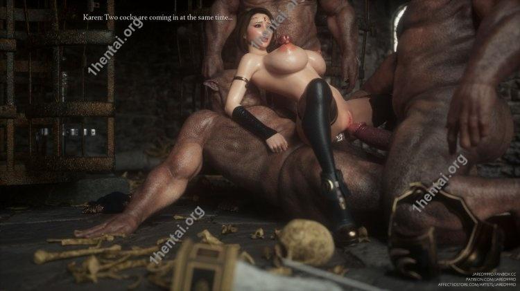 Fallen Lady 2 3D comics torrent 465.9 MB  Pages:556 torrent Affect3DStore